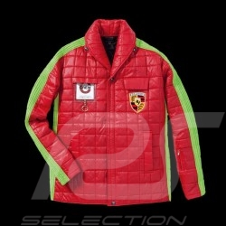 Veste Jacket Jacke Porsche mécanicien d'usine Style seventies Rouge Vert red green rot grün WAP841F - homme