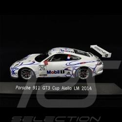 Porsche 911 type 991 GT3 Cup Aiello 24h Le Mans 2014 n° 26 1/43 Spark MAP02099214