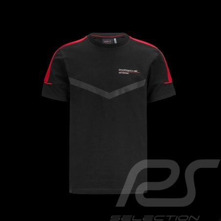 Porsche T-shirt Motorsport 4 Black - men