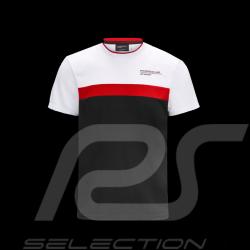T-shirt Porsche Motorsport 4 Blanc / Noir / Rouge - homme