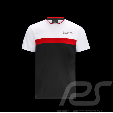 Porsche T-shirt Motorsport 4 White / Black  / Red - men