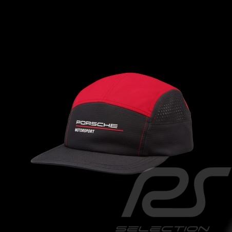 Porsche Cap Motorsport 4 Perforated Black / Red 701210882