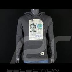 Sweatshirt Steve McQueen License Driving Asphaltgrau Hero Seven - Herren