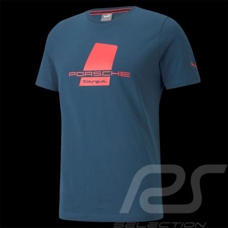 T-shirt Porsche Targa Puma Intense Blue / Magenta - men 531961-02