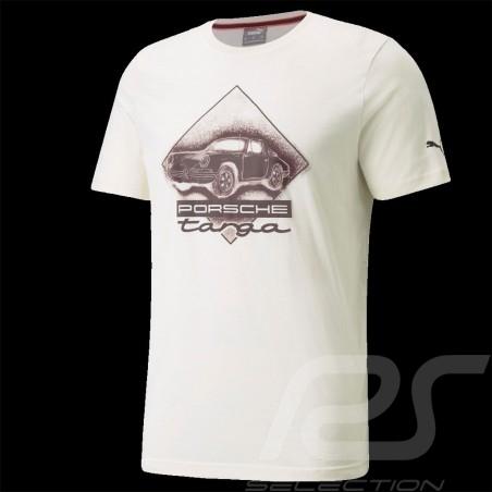T-shirt Porsche 911 Targa Puma Ivory White / Carmona Red - men 531963-04