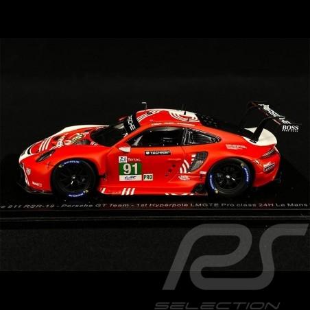Porsche 911 RSR Type 991 n° 91 24h Le Mans 2020 1/43 Spark S7983