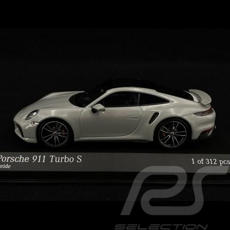 Porsche 911 type 992 Turbo S chalk grey 1/43 Minichamps 410069470