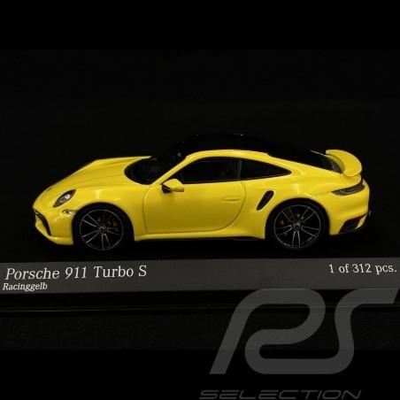 Porsche 911 type 992 Turbo S racing yellow 1/43 Minichamps 410069472