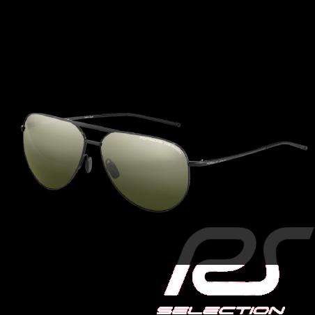 Porsche Sonnenbrille Patrick Dempsey Titan / Spiegel Gläser Porsche Design P'8688 WAP0786420M917