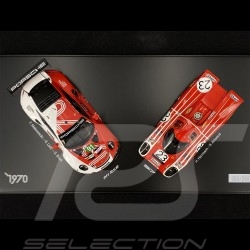 Set Porsche 917K & 911 RSR type 991 50 years Le Mans 1970-2020 n° 23  & n° 91 1/43 Spark WAP0209040NSET