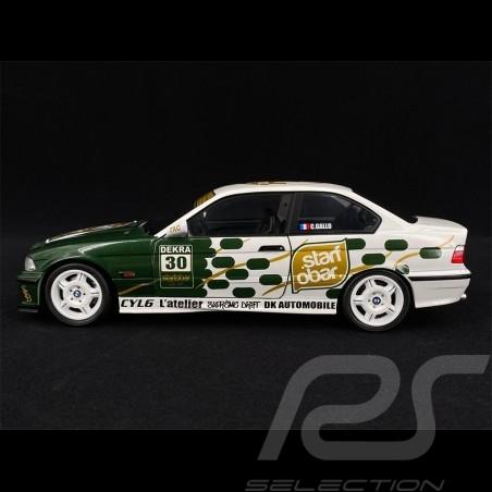 BMW E36 M3 Coupe Starfobar Tictac 1994 Green 1/18 Solido S1803906