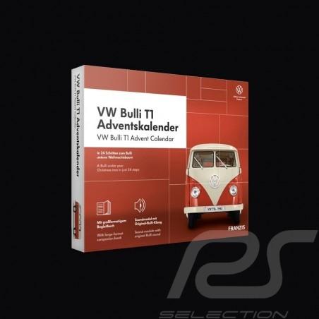 Volkswagen Advent calendar VW Bulli T1 white / red 1963 1/43 67111