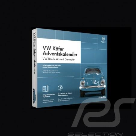 Volkswagen Advent calendar VW Beetle blue 1963 1/43 67098