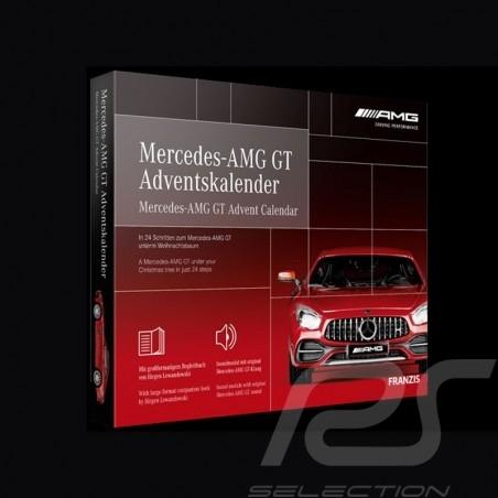 Mercedes Advent calendar Mercedes - AMG GT red 2020 1/43 Franzis 67103