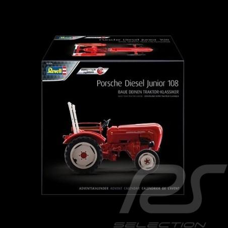 Calendrier de l'avent Advent Calendar Adventskalender  Porsche Junior 108 rouge 1/24 Revell 01036