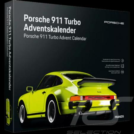 Porsche Advent calendar 911 Turbo 1974 light green 1/43 MAP09600221