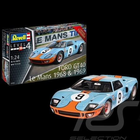 Model Ford GT40 to glue and...